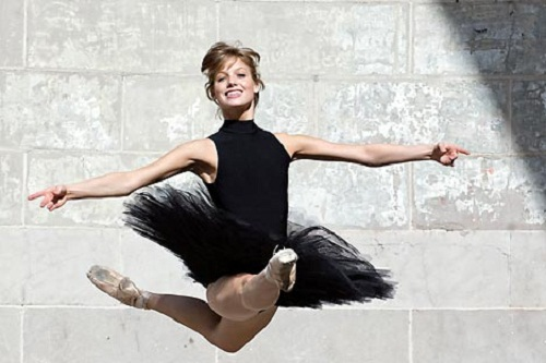 Let this dancer be your biggest inspiration…