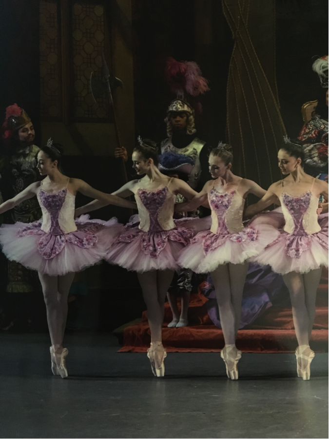 Lilac Fairy Attendants