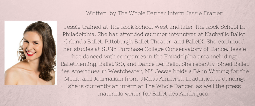 The Whole Dancer Intern Bio