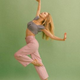 "NYCBallet Dancer Olivia Mackinnon ""Healthy at Home"""